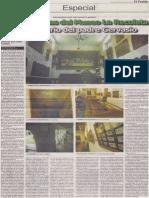Nuevas piezas del Museo La Recoleta y el misterio del padre Gervasio