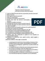 Cuestionario DERECHO EMPRESARIAL
