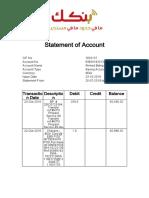 mBOK Statement 25-07-2019 To 23-10-2019