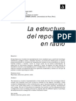 EL REPORTAJE RADIOFONICO