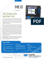 Echotrac MKIII product leaflet