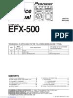CONTROLADOR PIONEER efx500