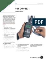 UT Thickness DM4E Specs Modified