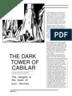 The dark tower of cabilar Dungeon Magazine - 001