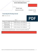 Connecting Rod Bearing Journal