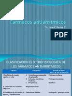 Fármacos antiarrítmicos 2010