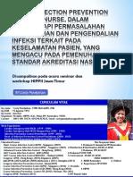 SEMINAR HIPPII SURABAYA PERAN INFECTION PREVENTION CONTROL NURSE, DALAM MENGHADAPI.pptx
