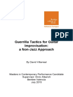 Guerrilla Tactics for Guitar Improvisation