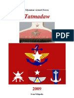 Myanmar-Armed-Forces Tatmadaw (From Wikipedia)