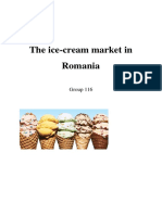 The Ice-cream Market in Romania