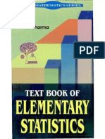 8171419534 Text Book of Elementary Statistics