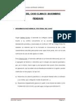 Analisis Del Caso Climaco Basombrio Pendavis