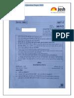 Cbse Class 10 Mathematics Question Paper 2019