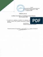ședința extraordinara a Consiliului municipal Chișinău din 15 ianuarie 2020