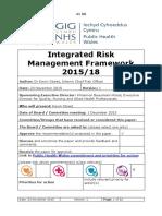 41 06 Integrated Risk Management Framework