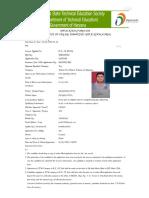 TFW application form