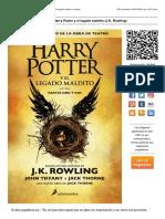 Descarga Harry Potter y el legado maldito (J.K. Rowling).pdf
