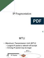 IP-Fragmentation