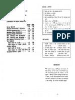 Beechcraft B80 Checklist
