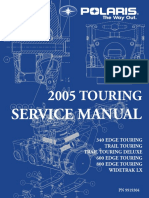 Snowmobile two stroke 2005 Service Manual