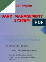 251895489-Bank-Mangement-C-project-PPT.ppt