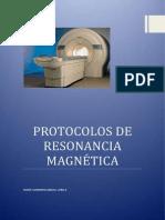 PROTOCOLOS RESONANCA MAGNÉTICA MAITE