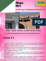 Batteries & Power Storage Equipment Email List.ppt