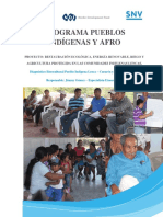Diagnóstico Etnocultural Pueblo Indígena Lenca – Curarén y Lepaterique, F.M.