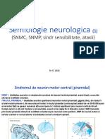Semiologie neurologica  NMC NMP sens atax 2019 text