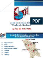 Prezentare ZEL Ungheni-Business 15 Ani de Activitate