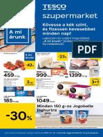 Tesco Szupermarket Akcios Ujsag 20200116 0122