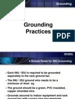 Grounding Procedure