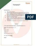 2019 maths CBSE paper