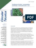 Hortbio - Fertilizante organico