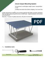 UI Solar Aluminum Carport STE Installation Guide
