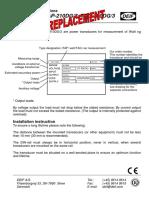TAP-210DG-3 installation instructions 1159040015 UK