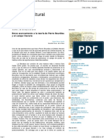 Pierre Bourdieu y el campo literario