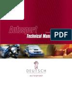 Autosport Tech Manual