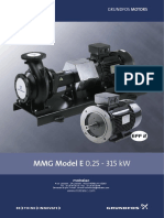 Grundfos Pump Catalogue MMG Series (HOT WATER GEN)