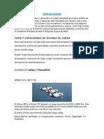 Tipos de Aviones