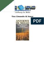 Una llamada al amor - Anthony de Mello