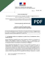 NOTE DGCL 28-12-2019 Application loi engagement et proximité (art. 14 et 96)