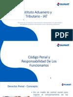 CÓDIGO PENAL Y RESPONSABILIDAD DE LOS FUNCIONARIOS PÚBLICOS