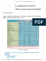 Qualcomm & Leadcore & Intel & Pinecone platform series devices flash instruction V23