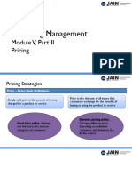 Module 5 - Part II - Price