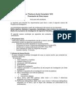 1. Guía 1 - Primer Avance - PAC - USM 2019
