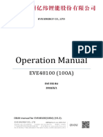 EVE EVE48100 User Manual