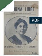 Rawson - La campaña feminista en la Argentina (1919)