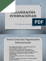 #06 - Organizações Internacionais - Profª Maria de Lourdes