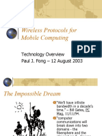 Wireless for Mobile Computing